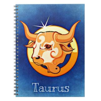 Taurus,Toro Spiral Notebook