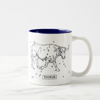 Taurus Two-Tone Coffee Mug