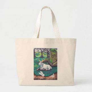 Taurus Watercolor Jumbo Tote Bag