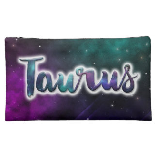 Taurus Zippered Pouch - Medium Makeup Bag