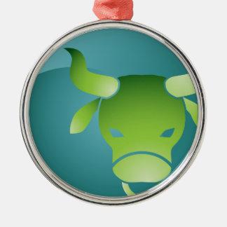 Taurus Zodiac Sign Christmas Ornament