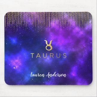 Taurus Zodiac Sign Computer Mousepad