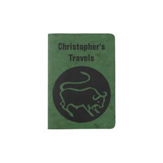 Taurus Zodiac Sign Passport Holder