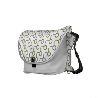 Taurus Zodiac Symbol Element Courier Bags