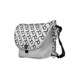 Taurus Zodiac Symbol Standard Messenger Bags