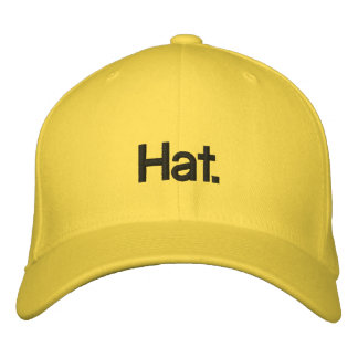 Tautology Hat. Embroidered Hat