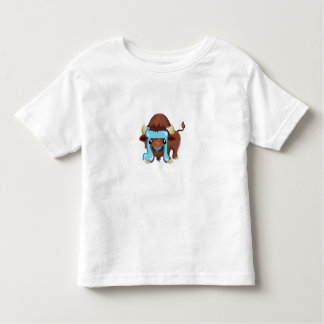 Tav the Buffalo, Hebrew Aleph Bet (Alphabet) Tees