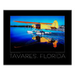 Tavares Florida Fine Art Seaplane Poster