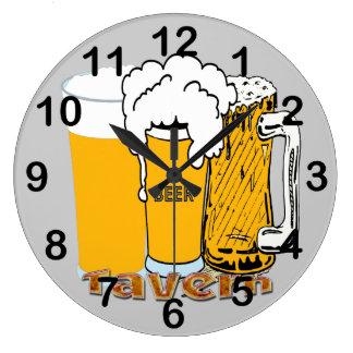 Tavern - Beer Round Wall Clock