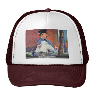 Tavern By Manet Edouard Trucker Hat