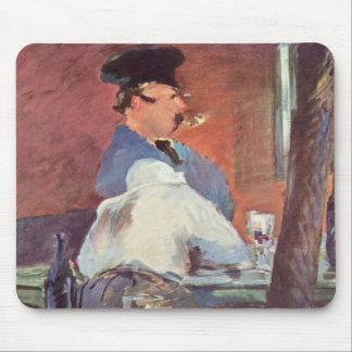 Tavern - Edouard Manet Mousepads