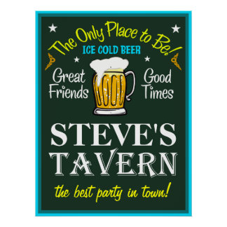 Tavern Sign (Personalized)