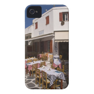 Taverna Nikos, Mykonos, Cyclades Islands, Greece iPhone 4 Case-Mate Cases