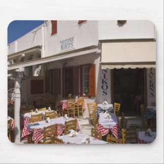 Taverna Nikos, Mykonos, Cyclades Islands, Greece Mouse Mat