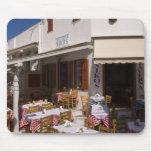 Taverna Nikos, Mykonos, Cyclades Islands, Greece Mouse Pad