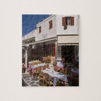 Taverna Nikos, Mykonos, Cyclades Islands, Greece Puzzles