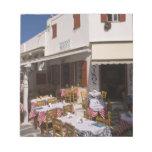 Taverna Nikos, Mykonos, Cyclades Islands, Greece Scratch Pad