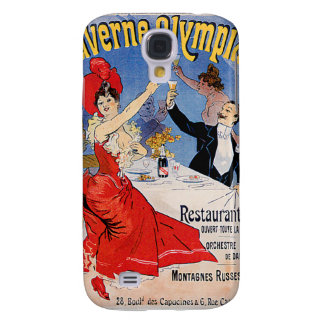 Taverne Olympia Vintage Restaurant Ad Art Samsung Galaxy S4 Covers
