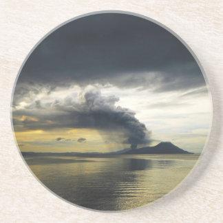 Tavurvur Volcano Rabaul Caldera Erupting Coasters