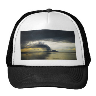Tavurvur Volcano Rabaul Caldera Erupting Mesh Hat