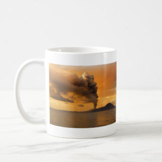 Tavurvur Volcano Rabaul Caldera Erupting Mugs