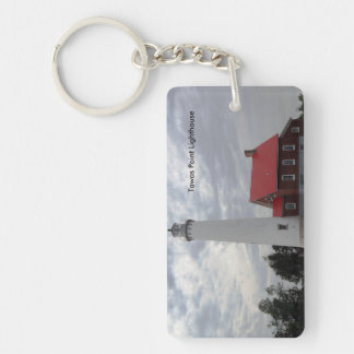 Tawas Point Lighthouse Key Ring