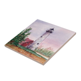 Tawas Point Lighthouse Tile