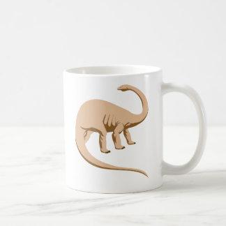 Tawny Colored Apatosaurus (a.k.a. Brontosaurus) Mug