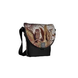 Tawny Owl Messenger Bag