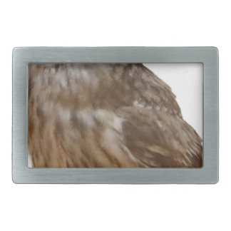 Tawny Owl pattern Belt Buckles