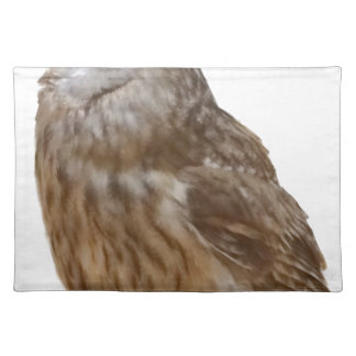 Tawny Owl pattern Placemat