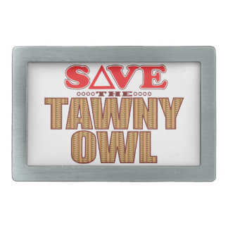 Tawny Owl Save Belt Buckle