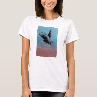 Tawny Owl Sunrise Art T-Shirt