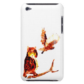 Tawny Owls Art iPod Touch Case