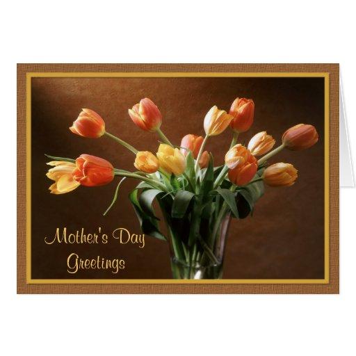 Tawny Tulips Card