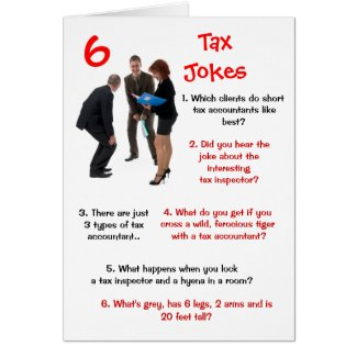 Tax - 6 Tax Jokes Funny Birthday