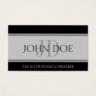 Tax Accountant Stripes Lt Grey