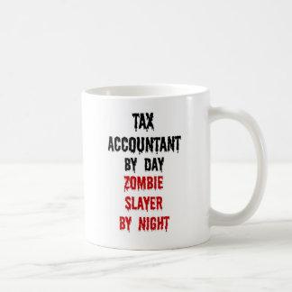 Tax Accountant Zombie Slayer Coffee Mug