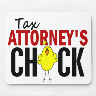 Tax Attorney s Chick Mouse Pads