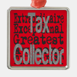 Tax Collector Extraordinaire Christmas Ornament