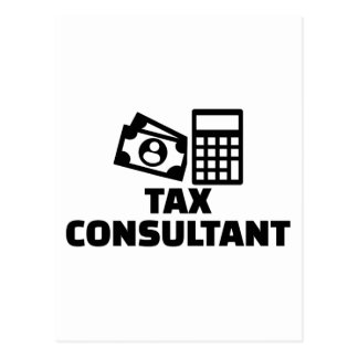 Tax consultant postcard