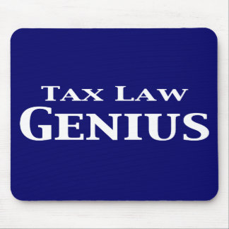 Tax Law Genius Gifts Mouse Pads