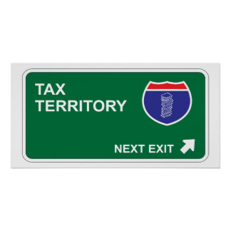 Tax Next Exit Poster