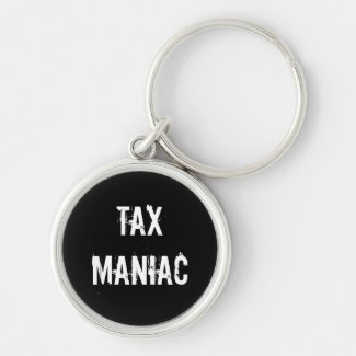 Tax Preparer Accountant or Advisor Humorous Insult Key Chain