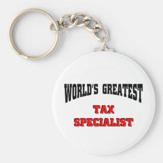 Tax Specialist Keychain