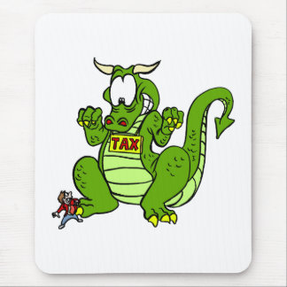 Tax the Dragon Mouse Pads