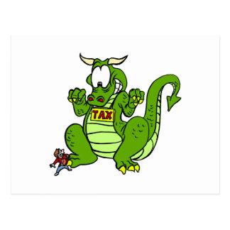 Tax the Dragon Postcard