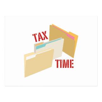 Tax Time Postcard
