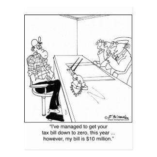 Tax Zero, CPA Bill $10 Million Postcard