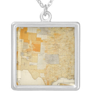 Taxation per capita, counties silver plated necklace